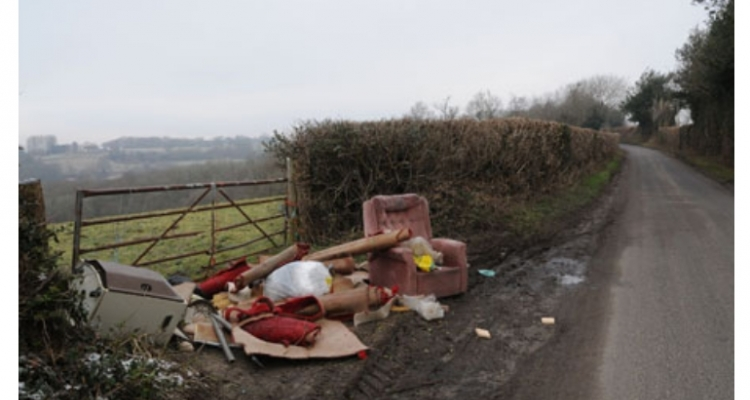 A Rural Crime – Fly Tipping