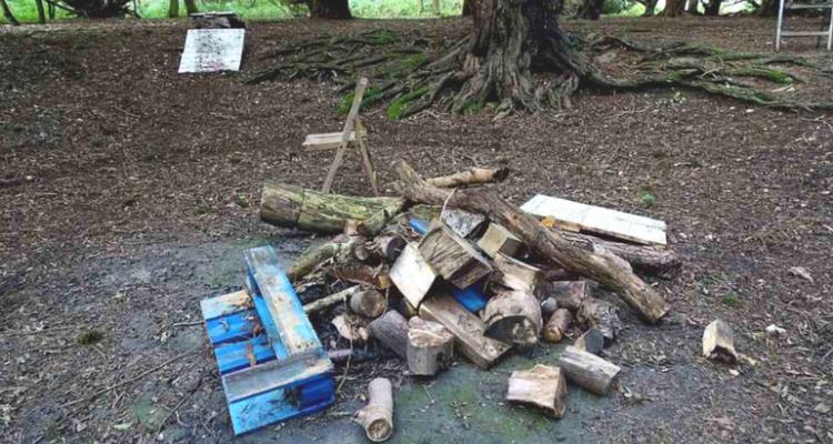 Great Yews - Vandalism